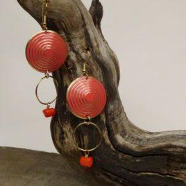 Boucles d'oreilles gorgone