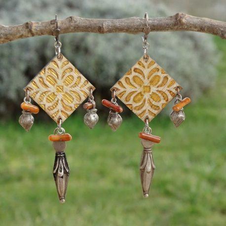 Boucles d'oreilles argent 925 Lm bijoux (2)