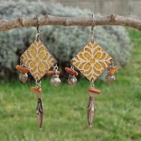 Boucles d'oreilles argent 925 Lm bijoux (3)