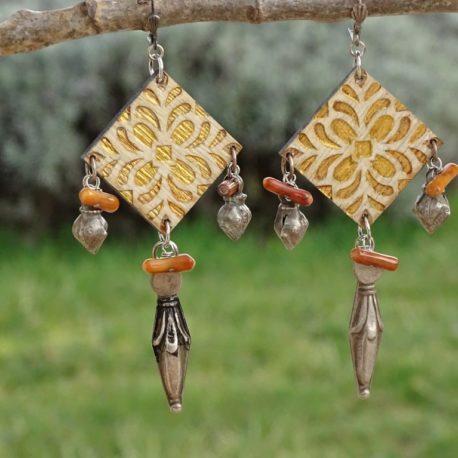 Boucles d'oreilles argent 925 Lm bijoux