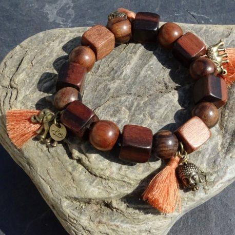 Bracelet bois de kamagong (3)