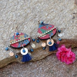 Boucles d'oreilles Gypsy