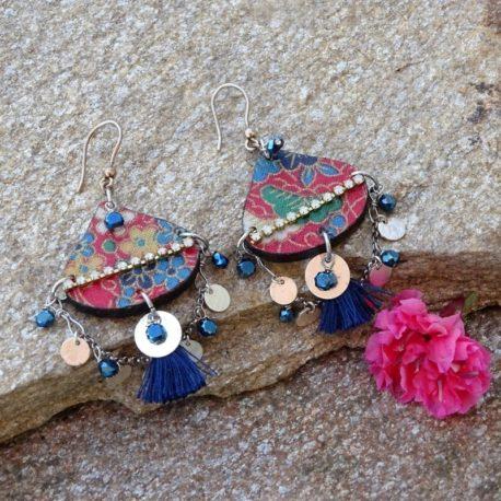 Boucles d'oreilles Gypsy argent (2)
