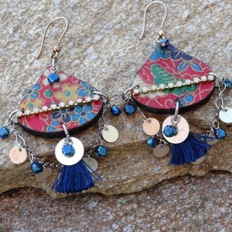 Boucles d'oreilles Gypsy argent