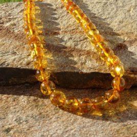 Collier ambre de la Baltique